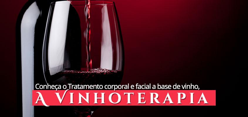Conheça a vinhoterapia
