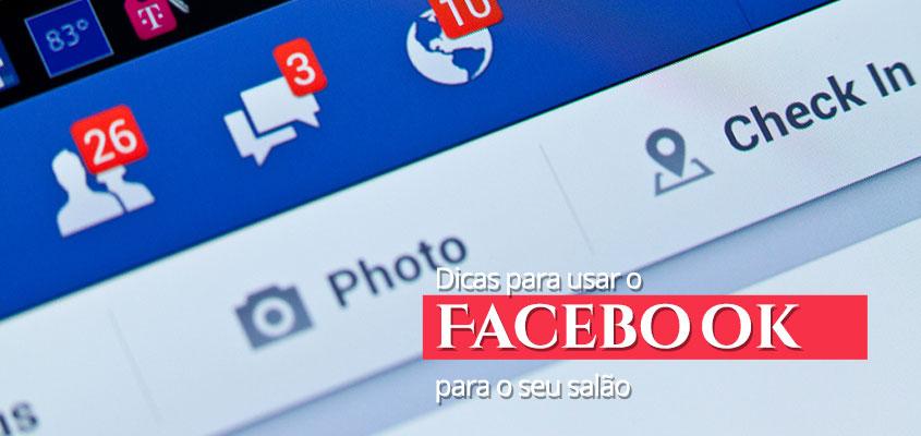 Dicas para usar o Facebook para o seu salão