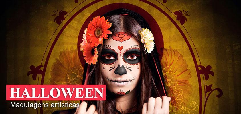 Halloween - Maquiagem Artística