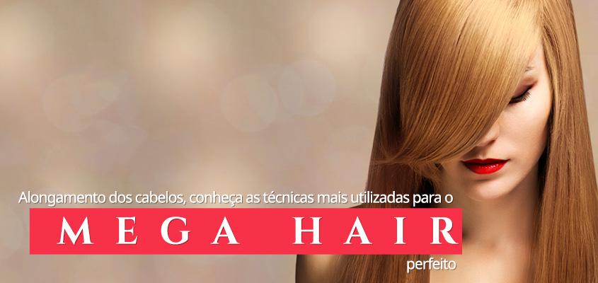 tecnicas de mega hair alongamento dos cabelos